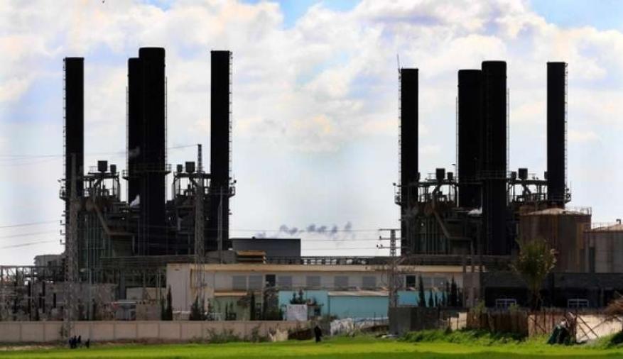 سلطة الطاقة تعلن توقف محطة كهرباء غزة