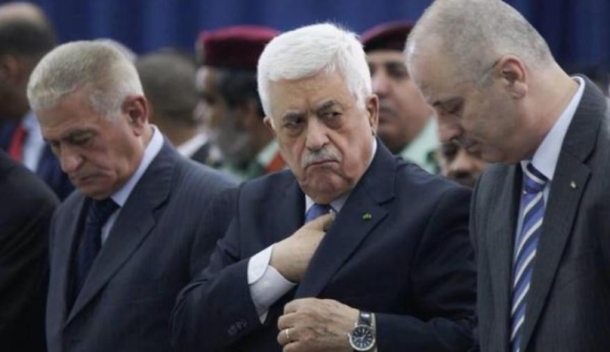"""""""أراكوز"""" بيد عباس.. حكومة الحمد الله فاقدة القرار والسلطة"""